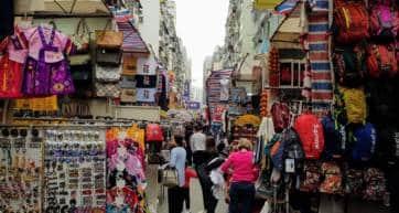 hong kong shopping neighbourhoods
