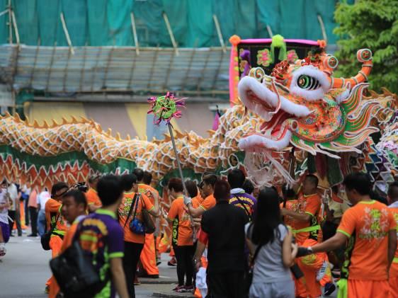 Tin Hau Lion Dance