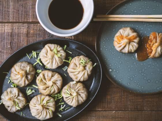 Vegan Chinese dumplings