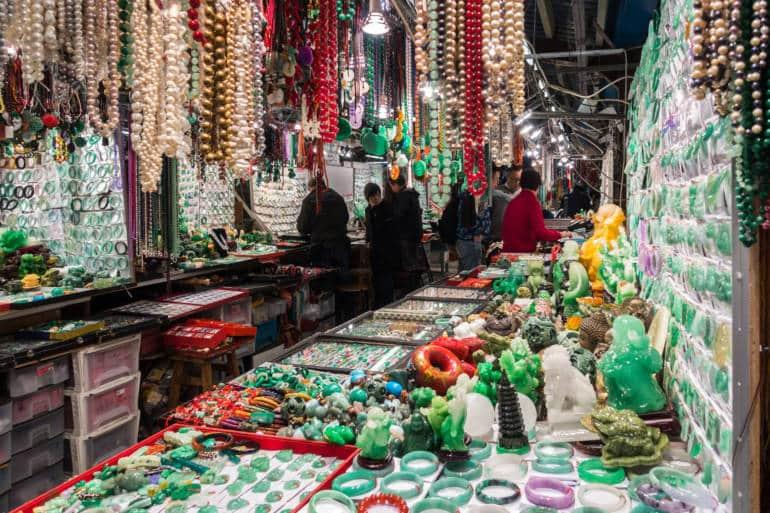 Jade Market Yau Ma Tei