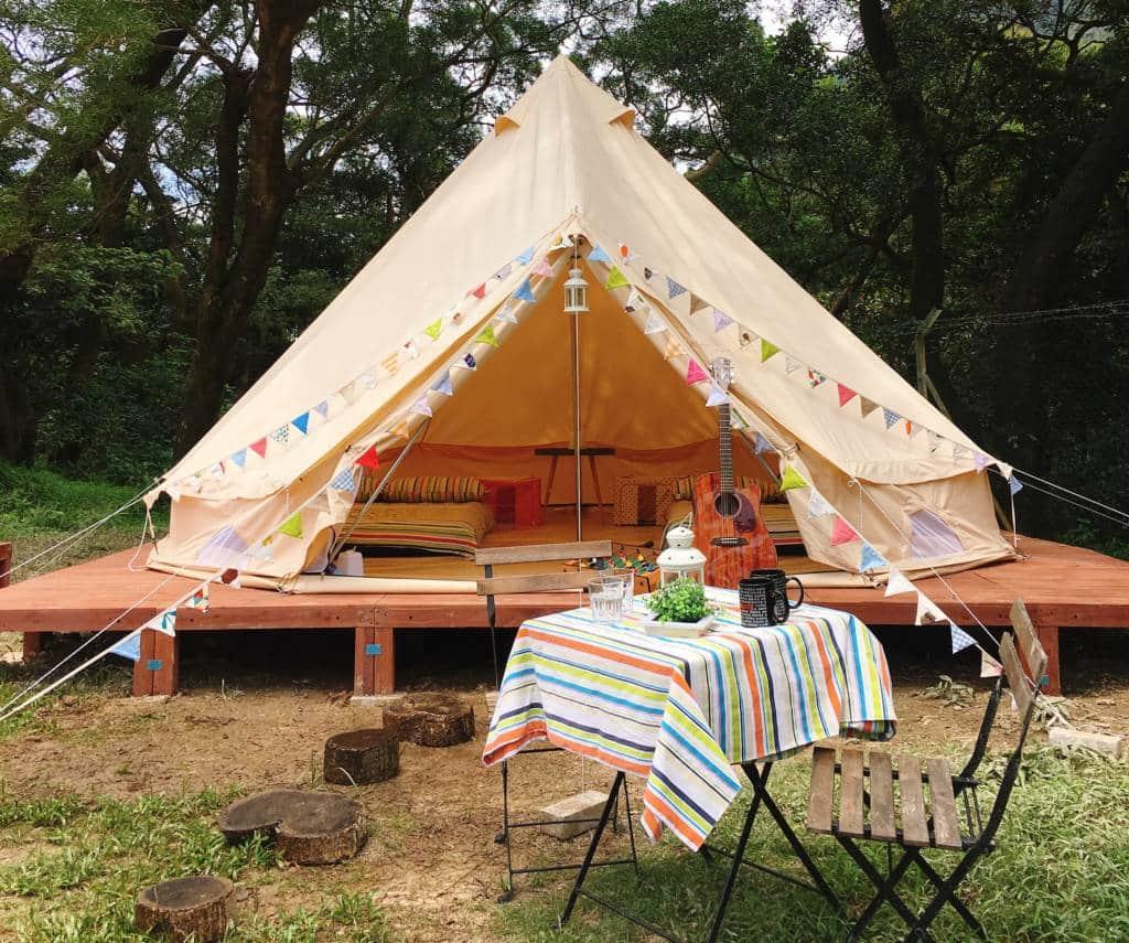 Glamping Tent at Ngong Ping