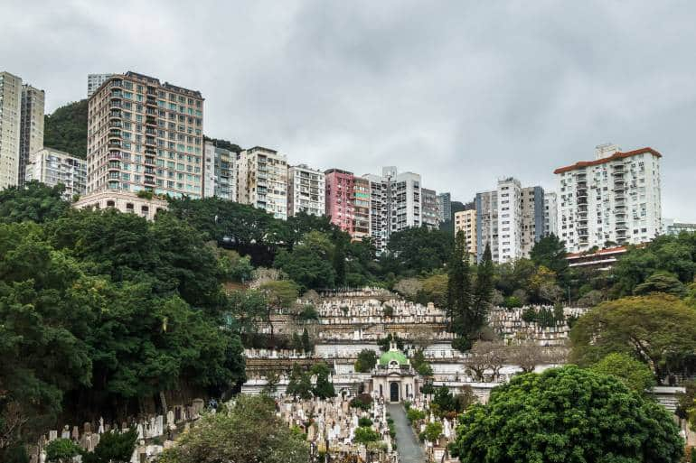 Hong Kong Cemetery or Happy Valley Cemetery is one of the early Christian cemeteries in Hong Kong dating to its colonial era