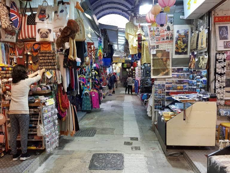 Stanley Market Interior